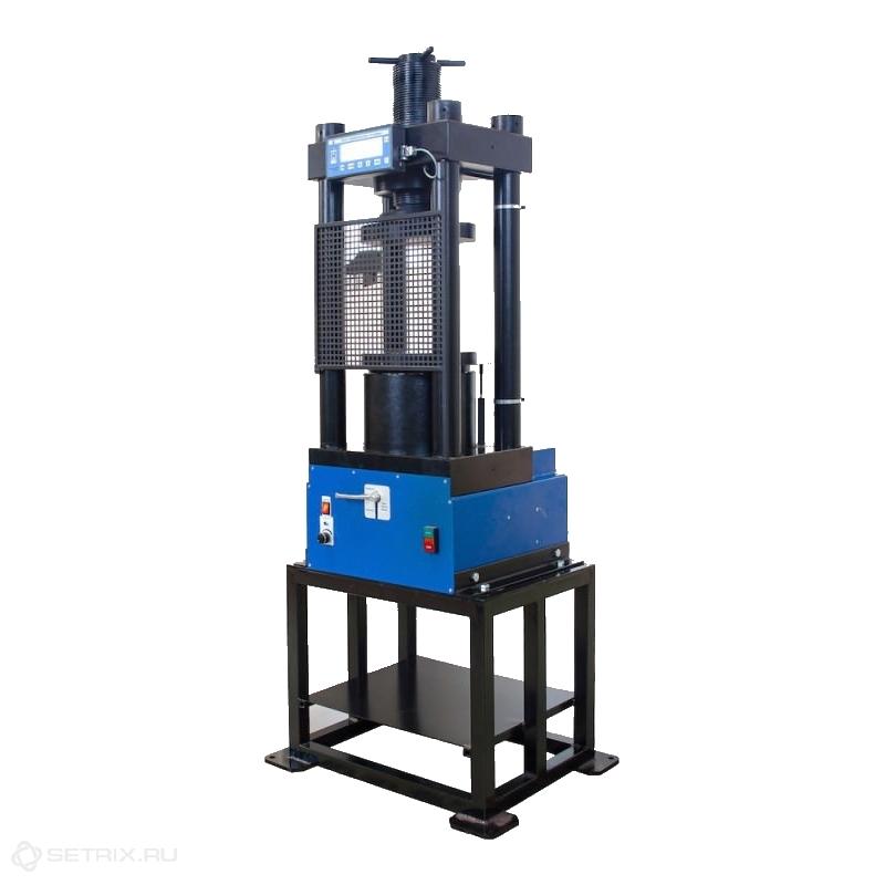 Испытательный гидравлический пресс ПГМ-1500МГ4 на 1500 кН