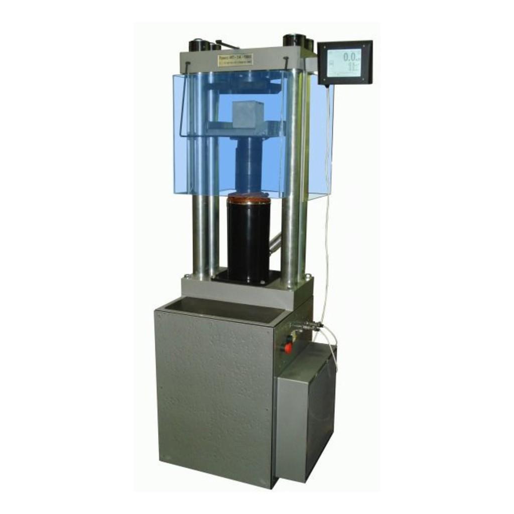 Машина для испытания на сжатие ИП-1А-1000 АБ (1000кН) (испытание бетона, изготовление а/б образцов)