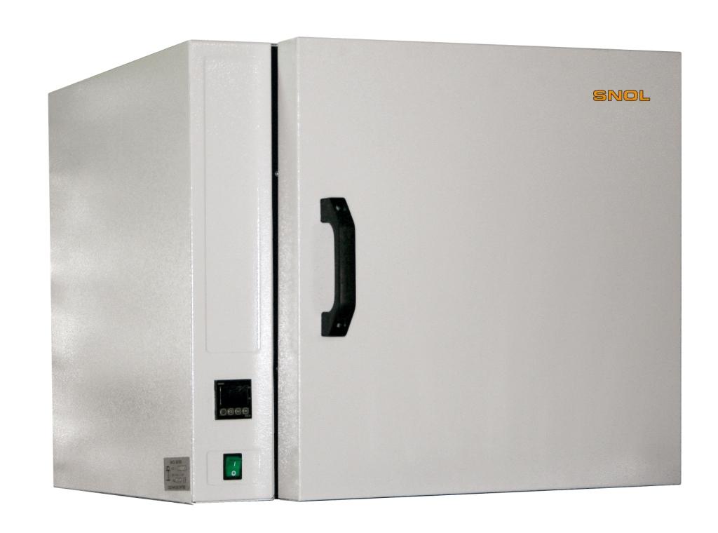 Сушильный шкаф SNOL 67/350  (нерж. сталь/ эл. терморегулятор/ без вентилятора)