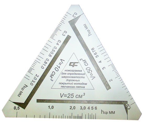 Прибор для определения шероховатости а/б покрытий КП-139