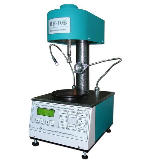 Аппарат для определения пенетрации нефтебитумов  ПН-10Б