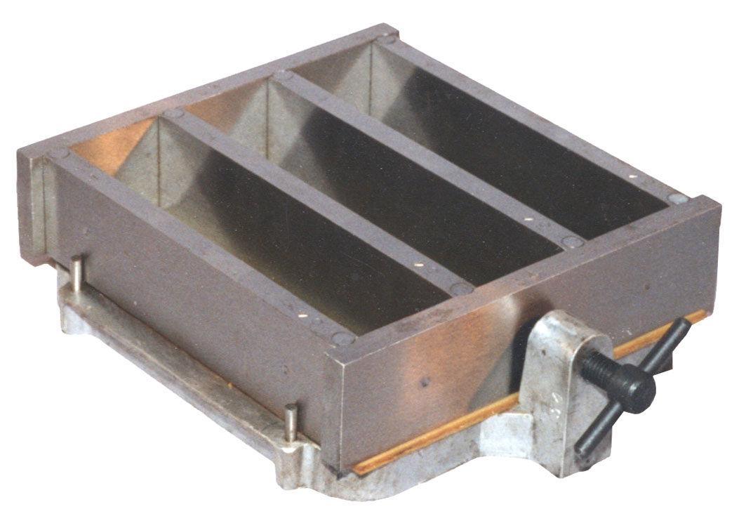 Форма балочек    3ФБ – 40    (40х40х160)